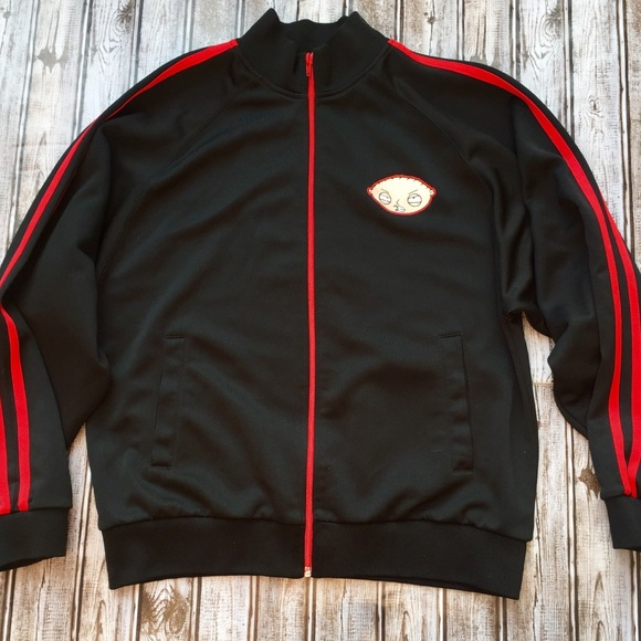 998b46fea2b5 Family Guy Other - Family Guy • Stewie Victory Full Zip Track Jacket